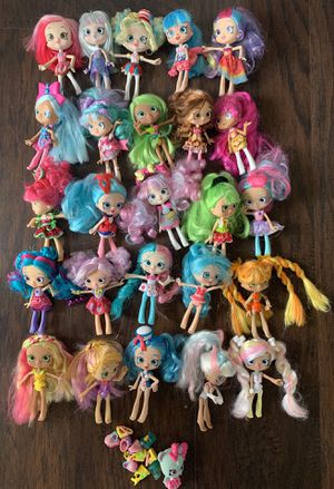 Lot of shopkins dolls for Sale in Etiwanda, CA