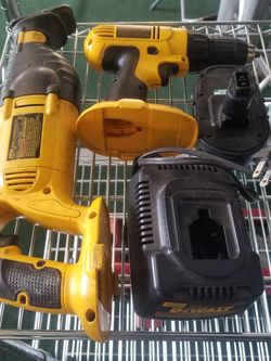DeWALT Sawzal, Drill, Battery, And Charger 18-volt for Sale in Kirkland,  WA