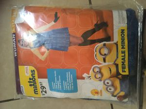 Wamen minions size large 12/14 for Sale in Norco, CA