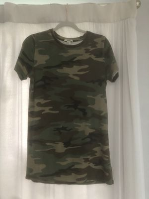 Forever 21 Camo Dress/ Shirt for Sale in Naperville, IL