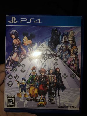 Kingdom Hearts 2.8 HD PS4 for Sale in Brooklyn, NY