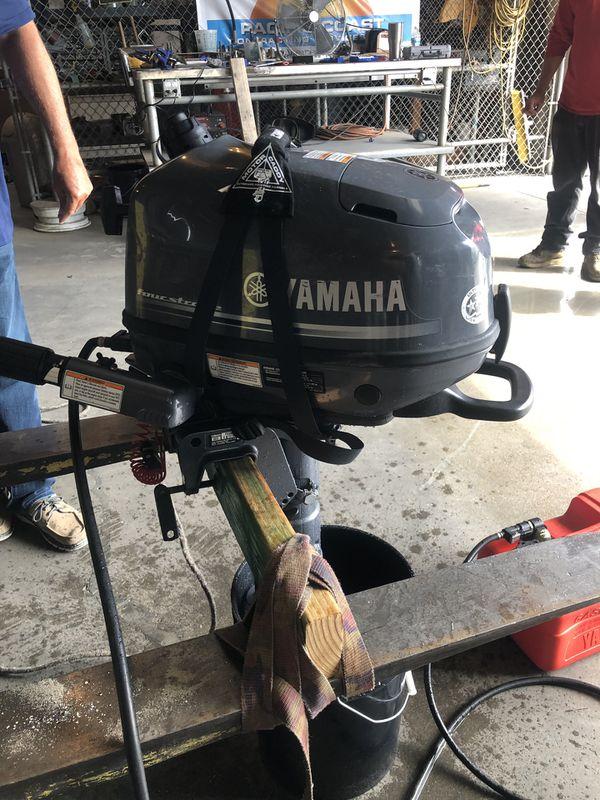 Yamaha 6hp outboard motor 2019