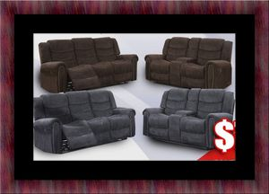 Grey or chocolate recliner set for Sale in Takoma Park, MD