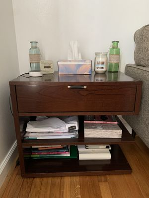 Night stand with shelving for Sale in SEATTLE, WA