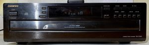 Onkyo DX-C340 6 Disc Changer 5 CD Exchange Continuous Play OEM Remote for Sale in Scottsdale, AZ