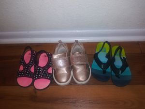 Awesome Toddler Shoe Value 3 different 1 Oshkosh, 2 Sandals for $40 for Sale in Altamonte Springs, FL