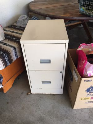 2 drawer file cabinet for Sale in Whittier, CA