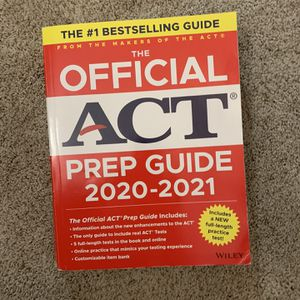 ACT Prep Guide 2020-2021 for Sale in Lascassas, TN