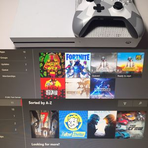 Xbox One S White Clean Bundle! With 10 Of the Newest Most Popular Games like Read Dead Redemption 2, UFC 3, Fortnite, Pubg, Resident Evil, Star Wars for Sale in Concord, CA