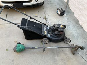 Lawnmower and Weed Wacker Briggs and Stratton Garden tools for Sale in Los Angeles, CA