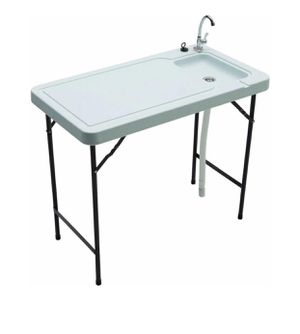 Tricam MT-2 outdoor fish and game cleaning table, 150 Ib load capacity for Sale in Austin, TX
