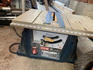 Ryobi 10 inch table saw for Sale in San Diego, CA