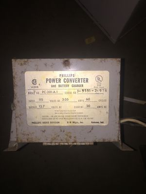 Power converter for a rv for Sale in Greencastle, IN