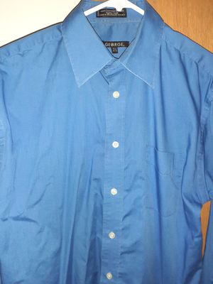 Size large men's dress shirt by George for Sale in Elgin, IL