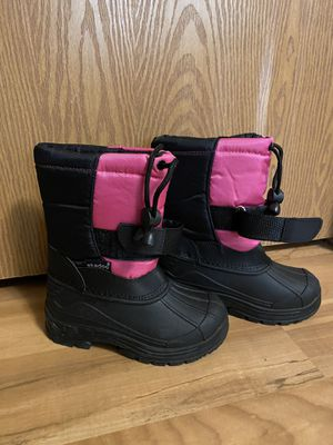 Toddler girls size 8 waterproof snow boots Brand New for Sale in Tacoma, WA