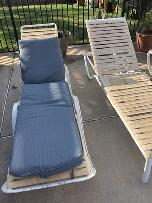 Pool loungers and fire pit-$25 for everything!!! for Sale in Riverside, CA