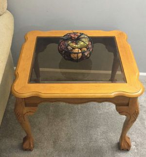 Solid wood coffee table &end tables for Sale in Glendale Heights, IL