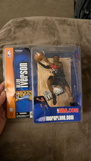 Allen Iverson 76ers collectibles action figure UNOPEN for Sale in Tualatin, OR