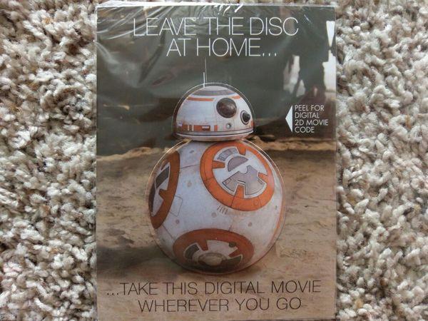 Star wars force awakens Digital code