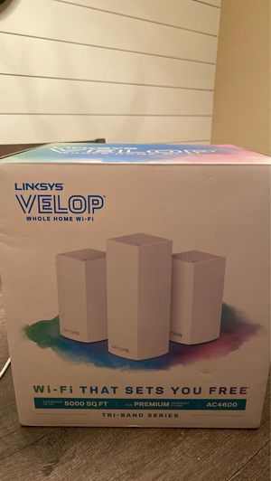 Linksys velop ac4600 for Sale in Mansfield, TX