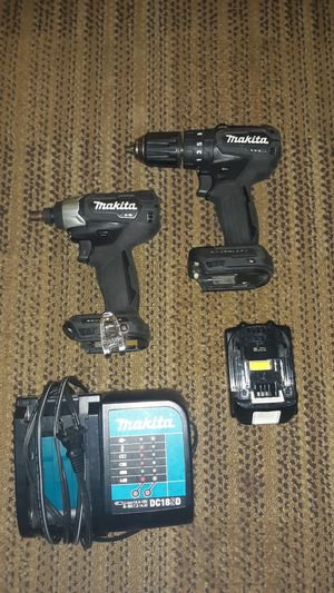 Makita hammer drill and impact drill for Sale in Oklahoma City, OK