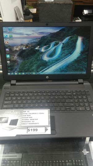 HP 15 LAPTOP 15 INCH for Sale in District Heights, MD
