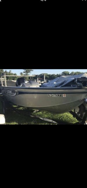 Fishing Boat Lowe 17 FM 115 OptiMax for Sale in Oak Brook, IL