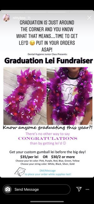 Graduation leis for class of 2020! for Sale in San Jose, CA
