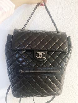 Black leather Backpack for Sale in Durham,  NC