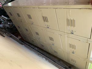 15 storage school wall locker for Sale in East Los Angeles, CA