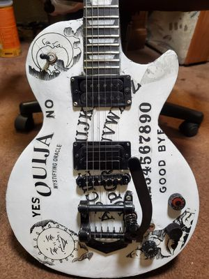 Kirk Hammett Ouija graphics for guitar for Sale in Tacoma, WA