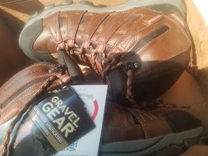 Gravel gear waterproof work boots size 9m for Sale in Norfolk, VA