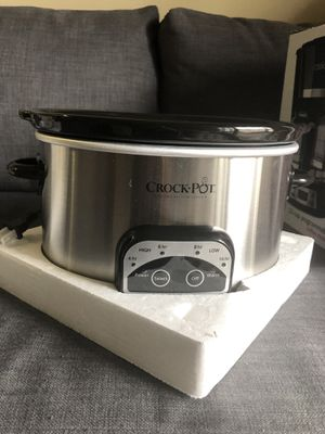 Crock pot slow cooker for Sale in Pittsburgh, PA