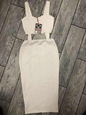 WHITE Boohoo Midi Dress for Sale in Inglewood, CA