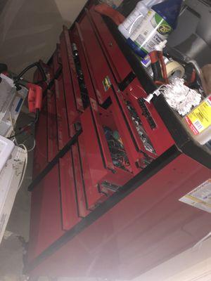 Snap on tool box 3 bay 8k obo for Sale in Dallas, TX