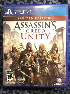 Assassins Creed Unity Limited Edition PS4 for Sale in Milton, PA