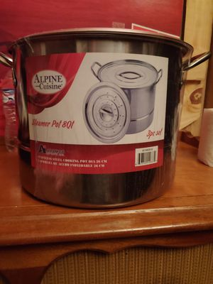 Alpine Cuisine Steamer pot 3PC Set for Sale in Bell Gardens, CA