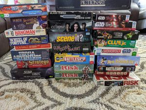 Mixture of board games (new and old) for Sale in Naperville, IL