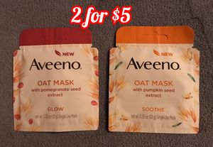 Aveeno face masks for Sale in Murrieta, CA