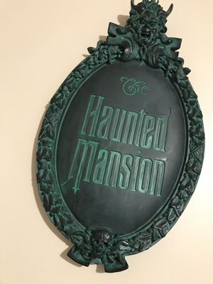 Disney Haunted Mansion Sign for Sale in Stow, OH