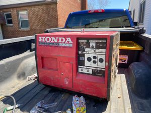 Honda generator ex330s for Sale in Parma, OH