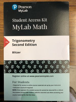 Access code for mylab math Pearson for Sale in DEVORE HGHTS, CA