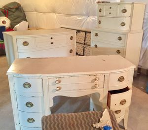 Tri Bond 1940-50's Antique Furniture for sale . Needs refinishing but has good bones. for Sale in Perry Hall, MD