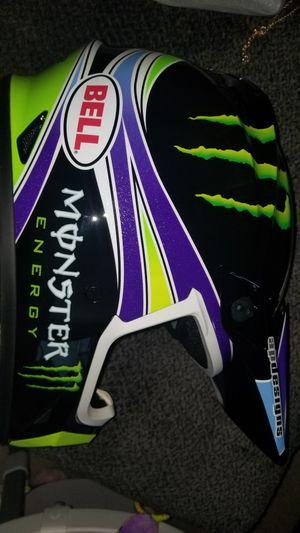 Monster energy eli tomac MX-9 Bell moto x/ motorcycle helmet for Sale in North Royalton, OH