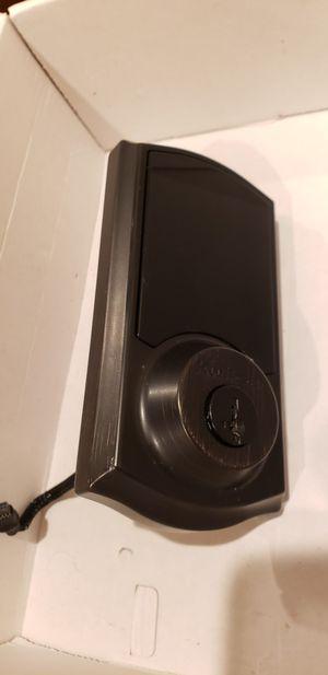 Kwikset smartkey 915 touchscreen electronic door lock for Sale in Tacoma, WA