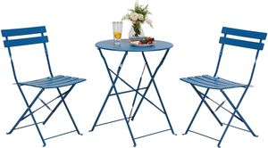 3 Pcs Premium Steel Patio Bistro Set For Outdoor Furniture Set for Sale in Santa Clarita, CA