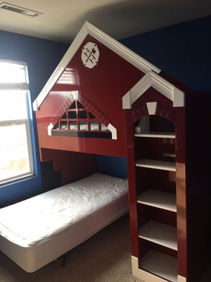 Fire Station Bunk Bed for Sale in Lochbuie, CO