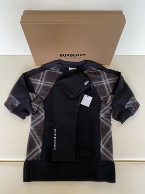 New Authentic Burberry Long Sleeve Sweatshirt Dress and Leggings Black Size 2T 3T for Sale in Glendale, CA