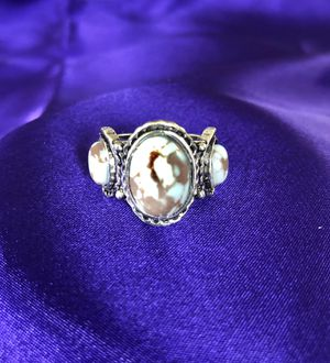 Silver Ring with Turquoise stones . No stamp for Sale in Everett, WA