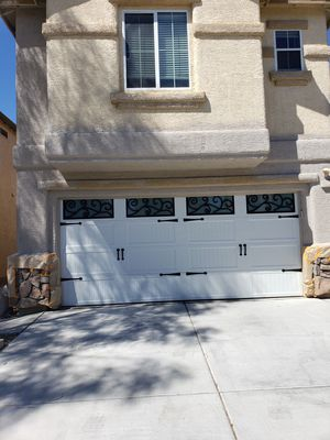 GARAGE DOORS 16 x 7 or 8 x7 for Sale in Las Vegas, NV